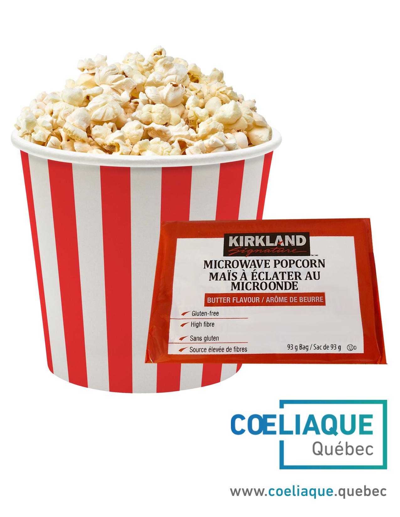 Popcorn pour sensibiliser