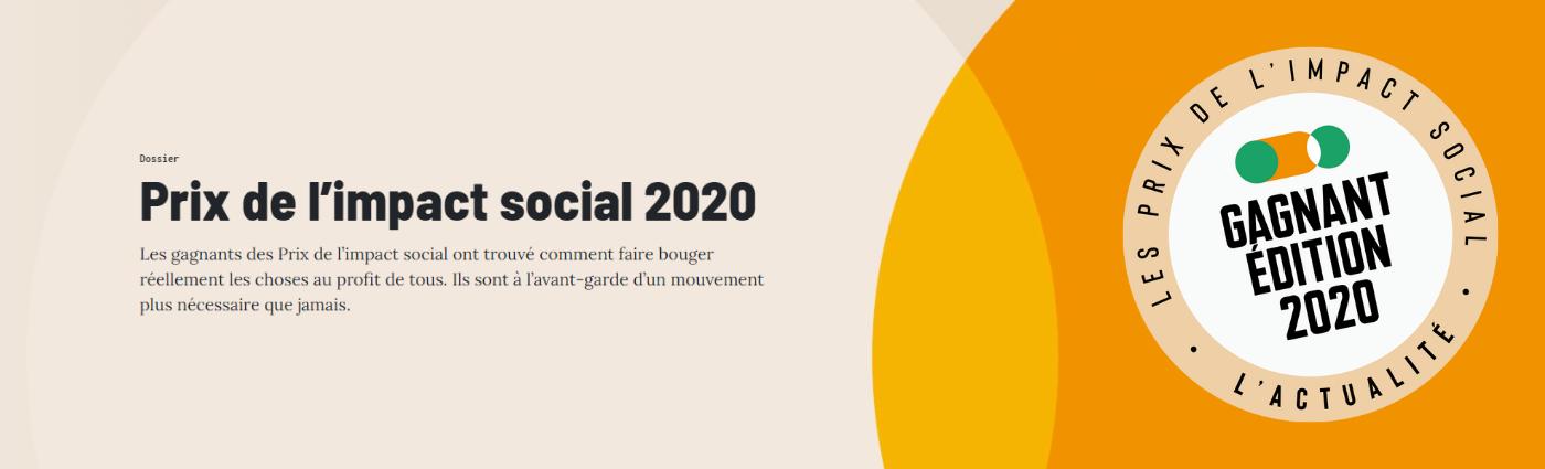 Prix de l'impact social