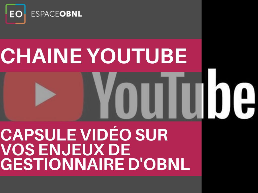 Espace OBNL - FACEBOOK